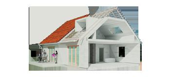 Здания из пеноблоков и газобетона