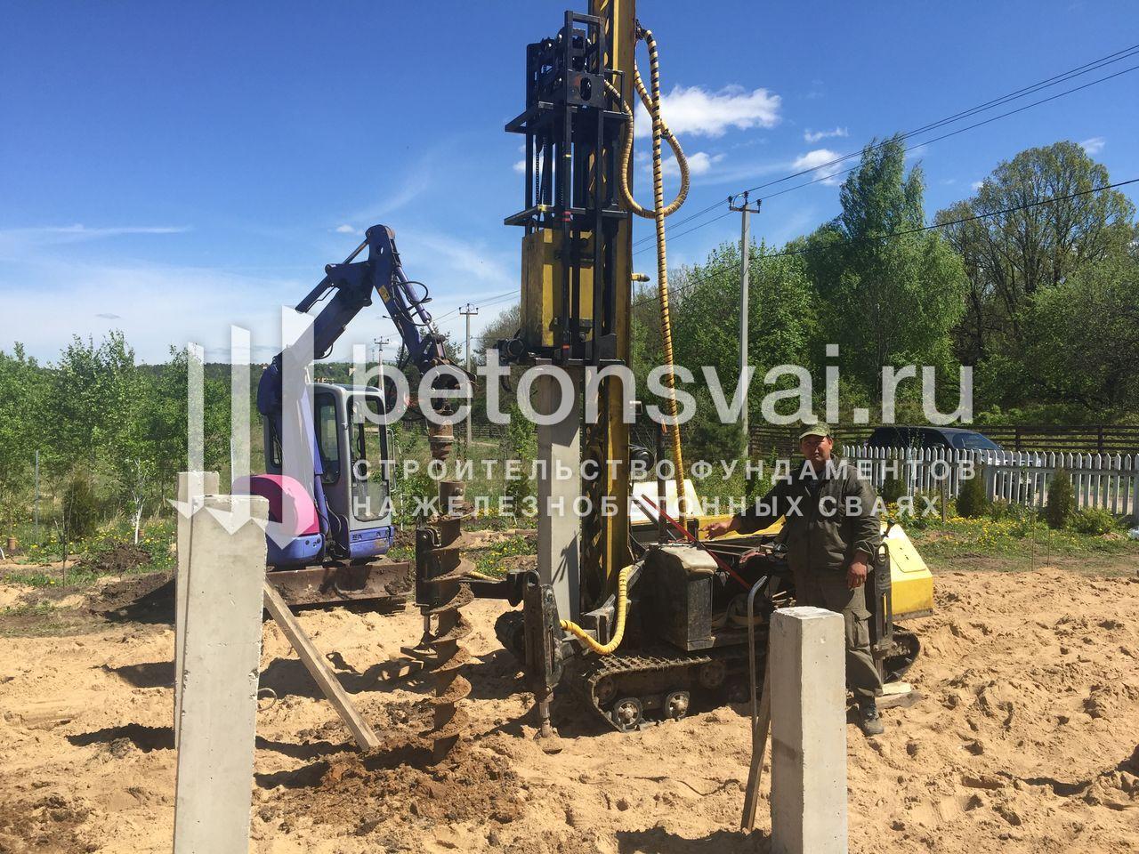 Сооружение свайных фундаментов Мытищинский район
