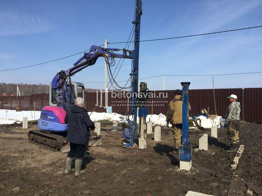 Сколько будет стоить фундамент дома в Подольске